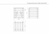Wymiary kompostownika z klapą i drzwiczkami
