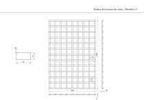 Kratka ogrodowa bez ramy 120 x 180 cm
