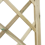 Kratka drwniana łuk 180x180 z ramą 32