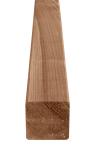 Słupek krawędziak drewniany 70x70x1800 brązowy