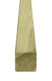 Słupek krawędziak drewniany 70x70x2000