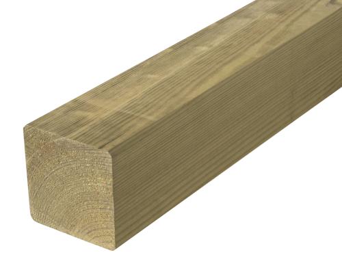 Krawędziak słupek ogrodzeniowy 90x90x1850 naturalny
