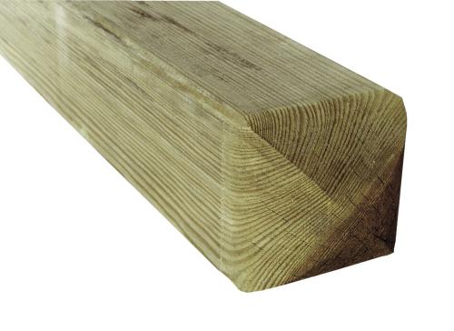 Krawędziak słupek ogrodzeniowy 90x90x1900 naturalny