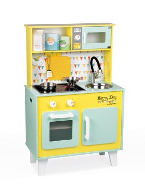 Kuchnia Happy Day - drewniana zabawka pobudzająca kreatywność