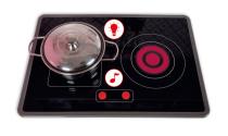 Kuchnia drewniana Macaron XL z dźwiękiem i 15 akcesoriami