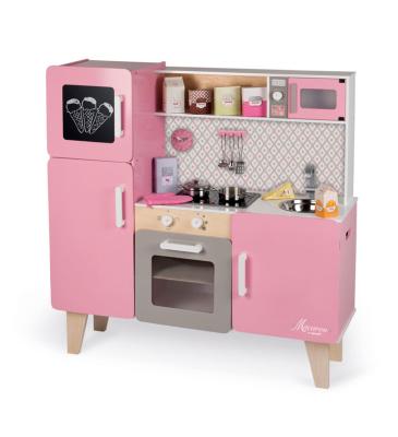 Większa kuchnia Macaron - więcej możliwości zabawy dla Twojego dziecka