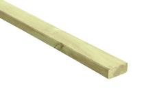 Drewno fazowane, poddane wstępnej obróbce