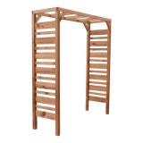 Pergola drewniana prosta 180x210x60 brązowa