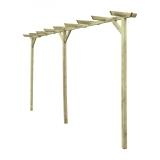 Warianty konstrukcji pergoli Wooder - wybierz odpowiednią do swojego ogrodu