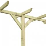 Pergola drewniana w ogrodzie - musisz ją mieć!