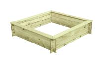 Piaskownica drewniana do ogrodu - kreatywne miejsce do zabawy dla dzieci