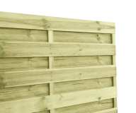 Płot drewniany deskowy HOLENDER 180x180x2,2