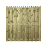 Drewniany płot ogrodowy - naturalny i ekologiczny