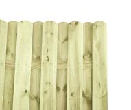 Przęsło do budowy ogrodzeń wyprodukowane z drewna sosnowego