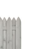 Oryginalna barwa płotu i estetyczne wykonanie z dbałością o najmniejszy szczegół