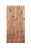 Płot drewniany deskowy HOLENDER 180x90x5 brązowy