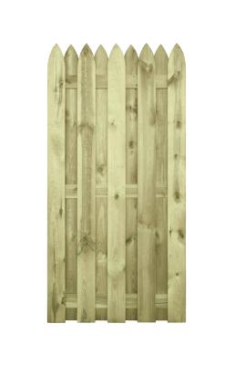 Płot drewniany zaimpregnowany ciśnieniowo - wyjątkowa trwałość i naturalny charakter