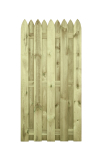 Płot drewniany deskowy HOLENDER 180x90x5 naturalny