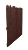 Płot drewniany deskowy HOLENDER olejowany 180x180x3,4