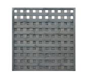 Płot deskowy kratka 180180x4x6 grafit