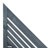 Panele dekoracyjne ukośne - nadają ogrodzeniu ciekawy kształt