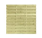 Płot drewniany deskowy HOLENDER 180x180x2,2 naturalny