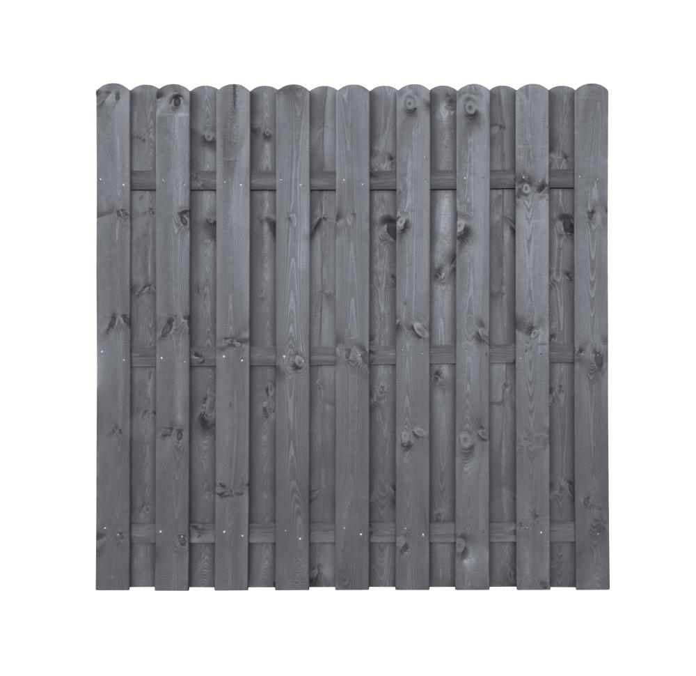 Płot drewniany deskowy HOLENDER 180x180x4,3