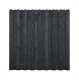 Płot drewniany deskowy HOLENDER 180x180x4,8 grafit