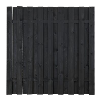 Płot drewniany deskowy HOLENDER 180x180x5,7 grafitowy