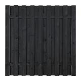 Płot drewniany deskowy HOLENDER 180x180x5,7 grafit