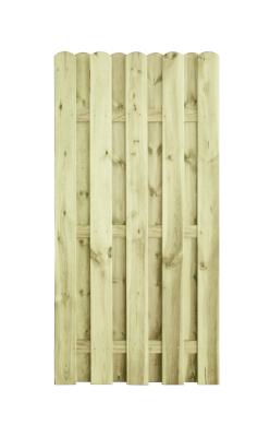 Płot HOLENDER o długości 90 cm - prosta konstrukcja