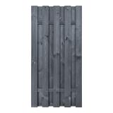 Płot drewniany deskowy HOLENDER 180x90x5,7 grafitowy