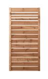 Płot drewniany deskowy w ramie 180x90x4 brązowy