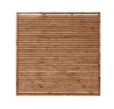 Płot drewniany deskowy żaluzja 180x180x6