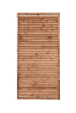 Płot drewniany deskowy żaluzja 180x90x6 brązowy