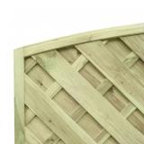 Piękne wzornictwo i solidne wykonanie - płot diagonalny drewniany