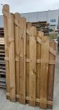 Płot drewniany Holender skos 180x90x4,8 naturalny - II gatunek
