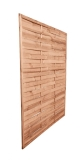 Brązowe osłony drewniane 180x180 cm idealne do ogrodu