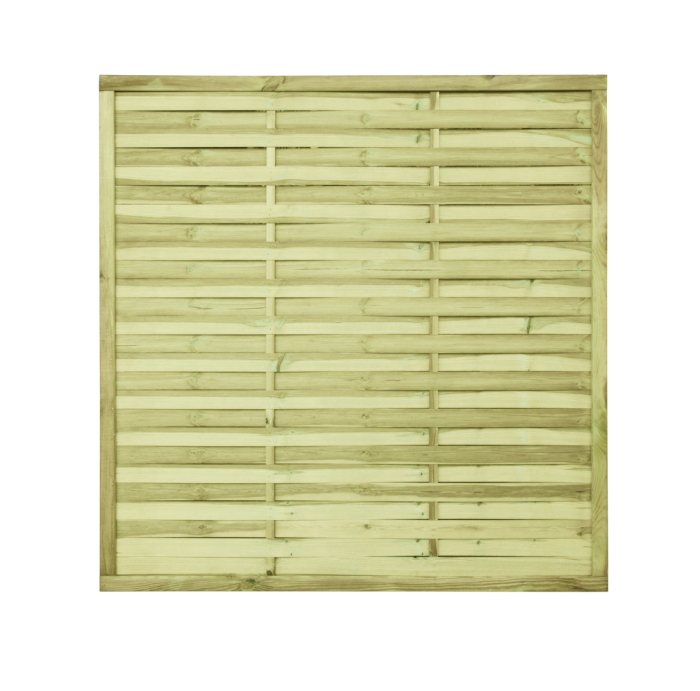 Płot drewniany lamelowy 180x180x3,5