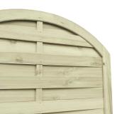 Panel można zastosować jako osłonę w ogrodzie, na balkonie czy na tarasie