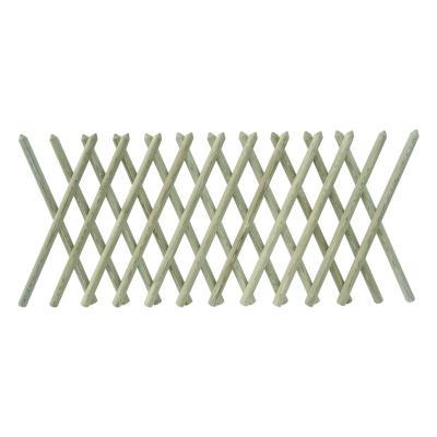 Płot drewniany myśliwski 80x250x4,6 naturalny