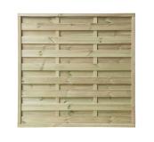 Płot drewniany szczelny 150x150x4,5x4,5 naturalny L9,5