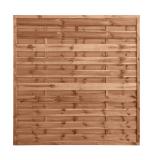 Płot drewniany szczelny 180x180x3,5x4,5