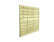 Płot drewniany szczelny 180x180x3x4,5 naturalny