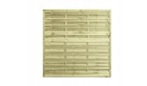 Płot drewniany szczelny 180x180x3x4,5 naturalny L10