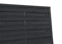 Płoty szare - suszone drewno malowane natryskowo