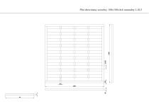 Płot drewniany szczelny 180x180x4x6 brązowy L10,5