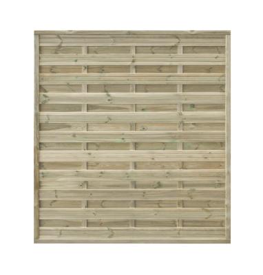 Płot drewniany szczelny 180x200x4,5x4,5 naturalny L10,5
