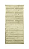 Płot drewniany szczelny 180x90x3x3 naturalny