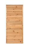 Płot drewniany szczelny 90x200x4,5x4,5 brązowy L10,5